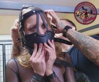 SBound – Chrissy Marie.. Belt Bound And Muzzled