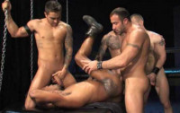Interracial Orgy For Muscle Fuckers