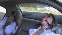 Leanna Belle & Holly Wood – Step Sisters Restrained In The Backseat