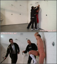Kristjan1-l – Angry Lad Gets His Clothes Ripped Off, Double Nipple Clamps And Pegs On His Balls
