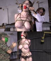 Extreme Bondage And Torture For Girl With Sexy Boobs