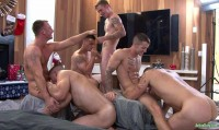 6 Amazing Man Orgy