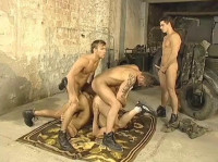 Raw Fuck & Orgy With Teen Commandos