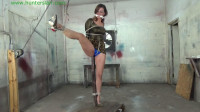 HunterSlair – Ren Smolder – Leggy Captive Stretched Out At The Post