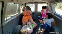 Multi-girl Damsels A Variety Pack Of 4 MILFs Bound In Zip Ties
