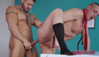 Busy Workmates In Hard Anal Fuck