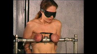 Slave Eve Meets Master T For Greater Amount Breast Torture – Cam Part 1
