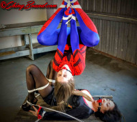 ShinyB – Terra Mizu.. Spidergirl Caught And Unmasked
