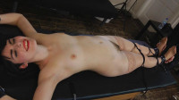 UKTickling – Portia Is Stretched Out, Stripped And Tickled Into Hysterics