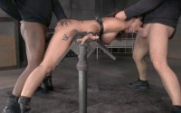 Syren De Mer Tightly Tied And Anally Pounded By BBC, Epic Messy Deepthroat