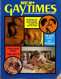 Gay Magazines And  Vintage High Quality Photo