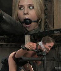 Hard Bondage, Torture, Spanking And Strappado For Two Hot Bitches (Part 1)