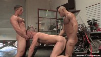 Hot Bodybuilders In Threesome Anal
