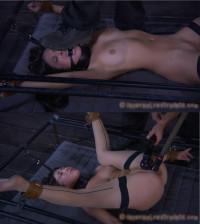 Extreme Bondage, Domination, Spanking And Torture For Naked Bitch (2)