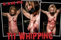BM Pig – Tit Whipping