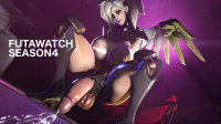FutaWatch Season 4 An Overwatch Futanari Compilation