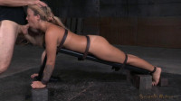 Pretty Blonde Madelyn Monroe Bound Face Down Ass Up Roughly Fucked Deepthroat (2015)