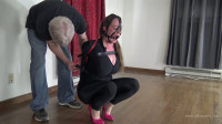 Pepper Sterling – Leather Straps, Armbinder, And Hot Pink Heels