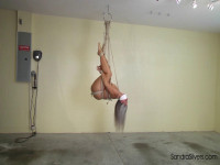 Nude Suspended Sandra Is Whitney's Plaything