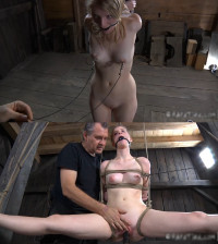 Tight Bondage, Domination, Hogtie And Torture For Young Blonde (Part 2)