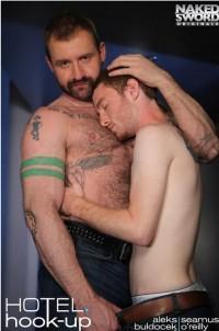 Hotel Hook-Up Scene 1 Daddy's Boy Aleks Buldocek And Seamus O'Reilly (2014)