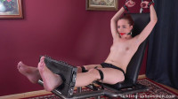 HD Bdsm Sex Videos Gagged And Foot Tickled And Oiled