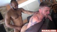 Ray Diesel And Christian Matthews – Interracial Cumdown