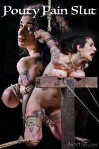 Pouty Pain Slut – Arabelle Raphael, Jack Hammer – 720p