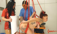 Painal Training With – Carmen Capri & Nurse Holl