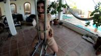LittleRedGirl On The Metal Chair – HD 720p