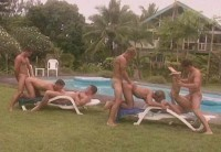 Rough Pool Gangbang Party