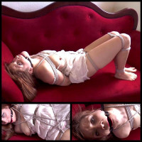 Innocent Lilly Hogtied & Gagged – Bondage-Education