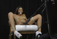 Maya Hottie Chair Tied With Orgasms