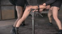 Hardbodied Milf Syren De Mer Tightly Tied Anally Pounded, Epic Messy Deepthroat (2015)