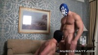 MuscleMatt – Kyle Tears Jason Up, Bruise, Use, Bong And Bang