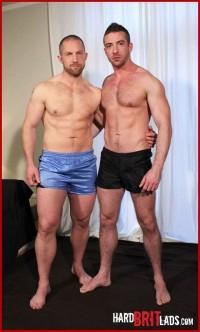 Adam Herst & Scott Hunter – - Big Muscle Lads Work Up A Sweat