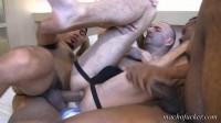 MachoFucker – Gang Banged 2  (Antonio Biaggi, Quawn & Kriss Aston)