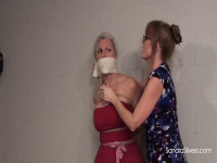 MOTHER ID LIKE TO FUCK Lesbian LadyBoss Darla Crane Extracts Bondage Orgasms