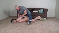Arielle Lane – Nude Hogtie By A Bad Man