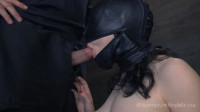 Bondage, Spanking And Torment For Undressed Brunette Hair Part 1