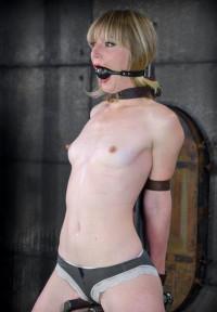 Sweet Girl Trying BDSM