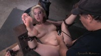 Cherry Torn Restrained In Fuck Me Position And Used Hard By Big Dick