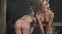 Bondage, Domination And Spanking For Two Sexy Blondes Part2