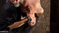 First Timer In Extreme Bondage With Brutal Tormented, And Made To Cum