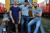 Paul And Isaak – Plowed And Loaded In A Train