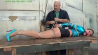 HunterSlair – Ren Smolder – Leggy Brat Hopped In And Hogtied On His Table