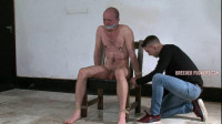 Kieran – Face Overspread In Void Urine, Body Flogged, Teat Clamps