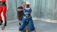 Jewell, Bound-n-Fucked in Latex