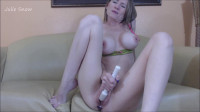 Julie Snow - Fucking your stepmom on the couch