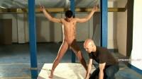 Billy5-l - Handgagged, rope-tied, caned, bastinado, cruel psychological games
